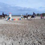 Pony Club Roma Equestrian Center Esterno Campo Tessuto